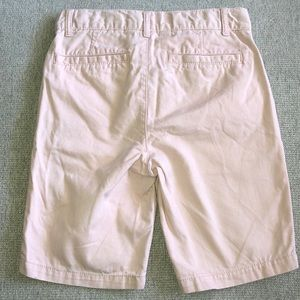 Children's Place Bottoms - Boy's Pink Uniform Chino Shorts 8